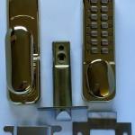 Digital Door Lock Brass