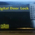 Digital Door Lock Satin
