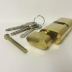 Oval Thumbturn Brass